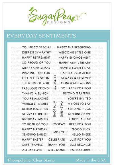 SugarPea Designs Everyday Sentiments