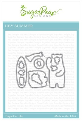 SugarPea Designs Hey Summer SugarCuts