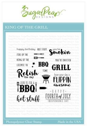 SugarPea Designs King of the Grill