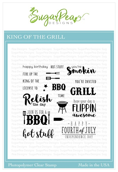 SugarPea Designs King of the Grill