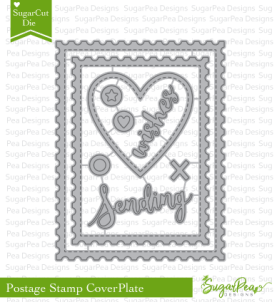 SugarPea Designs Postage Stamp Cover Plate