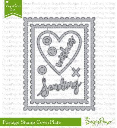 SugarPea Designs Postage Stamp Cover Plate