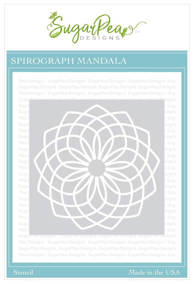 SugarPea Designs Spirograph Mandala Stencil