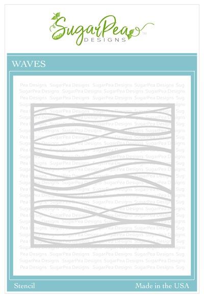 SugarPea Designs Wave Stencil