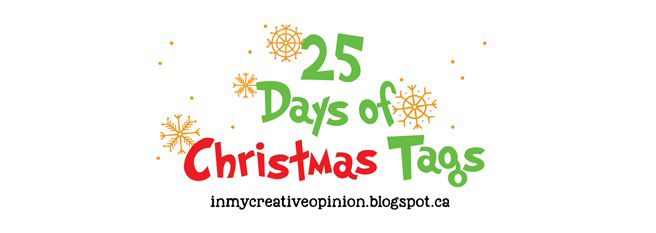 25 Days of Christmas Tags logo