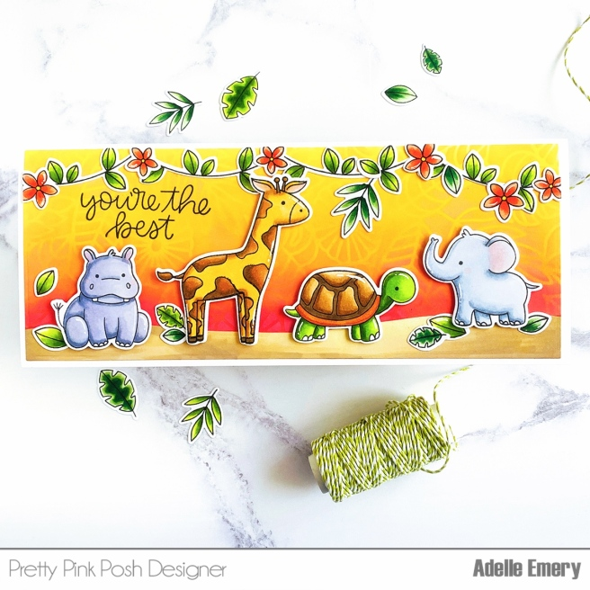 PPP Jungle Friends card