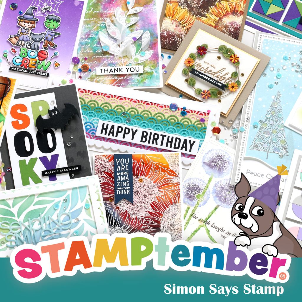 Simon Says Stamp STAMPtember graphic.